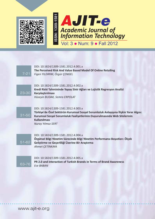 Cilt 3 – Sayı 9 – Güz 2012